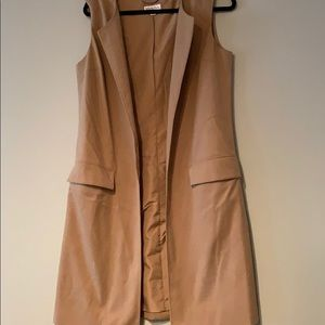 Gently used long vest